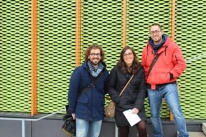 Stefano Baldon, Stefania di Pisa, Manuel Hilmer (nicht auf dem Foto: Valentina Damian)